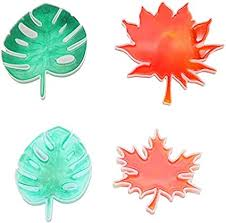 Silicone Mold 4 Pcs/Set Resin Leaves Mould Silicone ... - Amazon.com