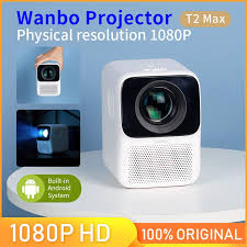 Youpin Wanbo <b>T2</b> MAX <b>LCD Projector</b> LED Support 1080P Vertical ...