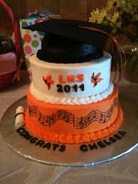 cool graduation cake ideas grad cap high schools and musicals high school graduation cake celebrate the great accomplishment for the graduate this music themed
