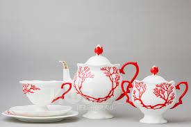 <b>Сервиз чайный</b> Наташа <b>Коралл</b>, 81.20921.00.1 (Императорский ...