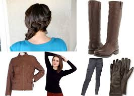 paper doll r ce character inspiration katniss everdeen here s a look at some items to include to help you mimic katniss hunting style complete side dutch braid