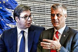 Vucic and Thaci are starting a <b>new round of</b> negotiations in Brussels ...
