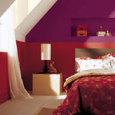 modern red wall paint