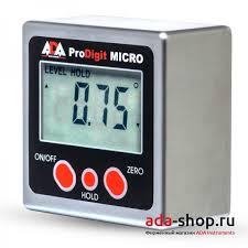 <b>Уровень электронный ADA PRO Digit</b> MICRO А00335 - <b>Угломеры</b> ...