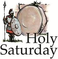 Image result for holy saturday image