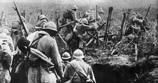 Beginn der Schlacht von Verdun