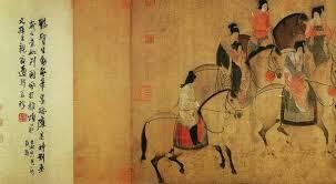 Resultado de imagen de pintura en la dinastía tang china siglo ix