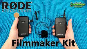 <b>Петличный</b> радиомикрофон <b>Rode Link</b> Filmmaker Kit - YouTube