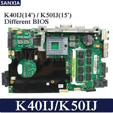 2019 <b>KEFU</b> K40IJ Laptop Motherboard For <b>ASUS</b> K40IJ <b>K50IJ</b> K60IJ ...