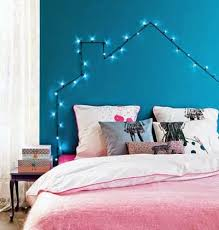 cheap bedroom lighting ideas make a headboard with lighted garland cheap bedroom lighting