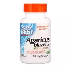 Doctor's Best, <b>Agaricus Blazei With Bioperine</b>, 90 Veggie Caps ...