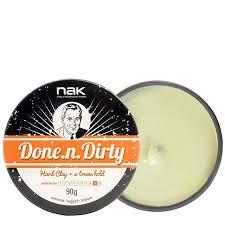 Матовая <b>глина</b> для укладки <b>волос</b> NAK Done-n-Dirty купить в ...