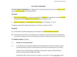 settlement agreement template uk template agreements and sample settlement agreement template uk template agreements and sample contracts