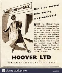 original vintage advert from 1940s advertisement dated 1947 stock original vintage advert from 1940s advertisement dated 1947 advertising vacuum cleaners by hoover