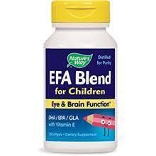 undefined Nature's Way <b>EFA Blend for Children</b> Eye & Brain ...