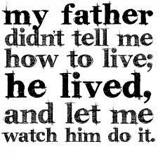 True Father Quotes. QuotesGram via Relatably.com