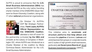 onboard org association of latino professionals share