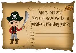 pirate birthday party invitations net kids birthday party invitations printable st birthday birthday invitations
