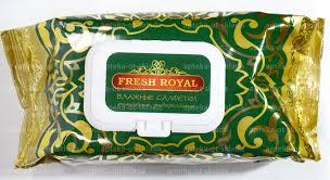 <b>Влажные салфетки универсальные</b> очищающие Fresh Royal N 120
