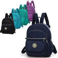 Mini Backpack Purse Nylon <b>Small Backpack Shoulder</b> Rucksack ...