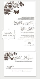 wedding invitation templates word wblqual com