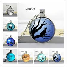 lets slim couple kitty cats pendant necklace glass convex fashion gifts to map private custom