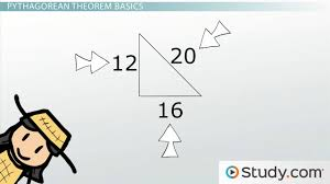 trigonometry and the pythagorean theorem video lesson the pythagorean theorem practice and application