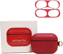 ACCLA Airpods Pro Genuine <b>Cowhide Leather Case</b> + 18K Dust ...