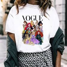 <b>FIXSYS</b> VOGUE <b>Fashion Women</b> T Shirt Cool Princess Printed T ...