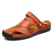<b>Men Beach</b> Casual Sandals Breathable <b>Lightweight</b> Super ...
