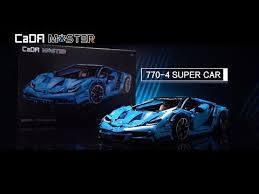 <b>CaDA</b> launches supercar. <b>Cada</b> model <b>C61041</b> : lepin