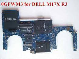 For Dell Alienware M17x R3 Laptop Motherboard LA-6601P ...