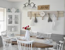 shabby chic dining room white white shabby chic round dining table tables ideas