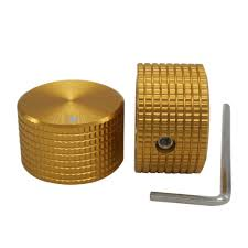Taiss/ <b>2pcs</b> Golden color Aluminum <b>Rotary</b> Electronic Control ...