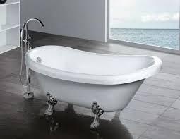 <b>Акриловая ванна</b> Gemy G9030C на ножках хром <b>175х82</b>