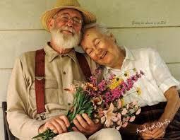 Resultado de imagen para viejitos amorosos