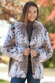 Maliya Lynx Fur <b>Jacket</b> @anandco #anandco #furonline #lynx #fur ...