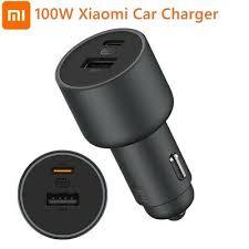 <b>Xiaomi Car</b> Charger 1A1C <b>100W</b> 5V 3A Dual USB Fast Charging ...