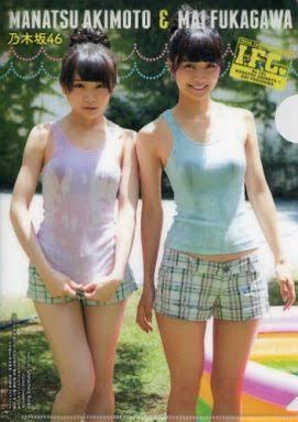 水着の秋元真夏