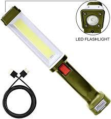 <b>COB Led</b> Car Work Light Cordless <b>Portable handheld</b> USB ...
