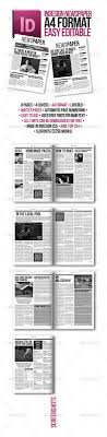 newspaper template for indesign template newspaper template for indesign