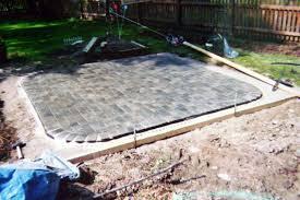 paver patio designs backyard pavers design