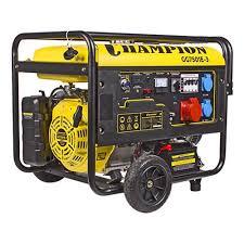 <b>Генератор бензиновый CHAMPION GG7501E</b>-3 — купить в ...
