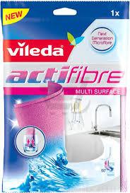 <b>Салфетка</b> для уборки <b>Vileda Actifibre 29х29</b> см 1 шт./уп., цена 161 ...