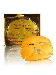 Комплект <b>масок</b> для лица Collagen <b>Crystal</b> Mask Bio Gold 3шт ...