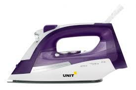 <b>Утюг UNIT USI</b>-<b>284</b> 2200Вт <b>фиолетовый</b> — купить недорого с ...