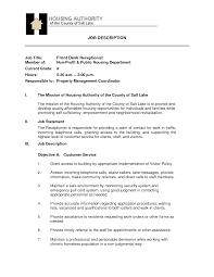 front desk agent resume description equations solver resume job description for front desk agent sle customer