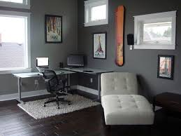 office large size furniture corner steel table for small home office design with gray painted beauteous home office work