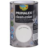 <b>Краска</b> интерьерная <b>Primalex Clean&Color Белое</b> кружево 1 л ...