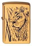 <b>Зажигалка Zippo Proud</b> Lion